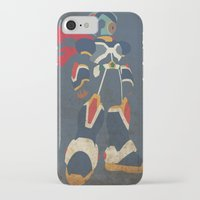 megaman iPhone & iPod Cases featuring Megaman X by JHTY