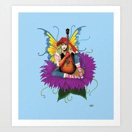 Cowgirl Fairy Art Print