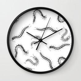 CENTIPEDES Wall Clock