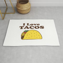 I Love Tacos Rug