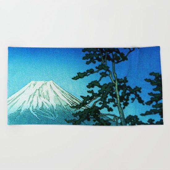 Dreams of Blue Beach Towel