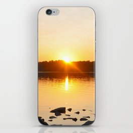 The Setting Sun. iPhone Skin