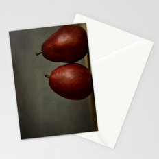 Red Pears Stationery Cards