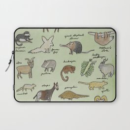 The Obscure Animal Alphabet Laptop Sleeve