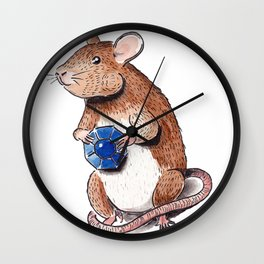 Ratty Wall Clock