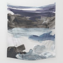 Number 79 abstract Landscape Wall Tapestry