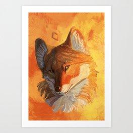 dhole Art Print