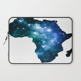 Africa Universe Blue Green Laptop Sleeve