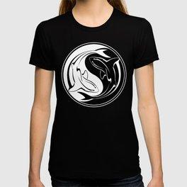 Yin Yang Shark T-shirt