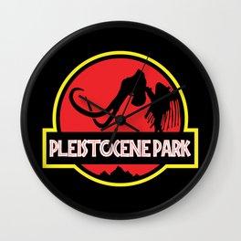 Pleistocene Park Wall Clock