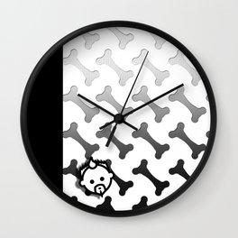 Boned HD by JC LOGAN 4 I Am Simply Blessed Wall Clock