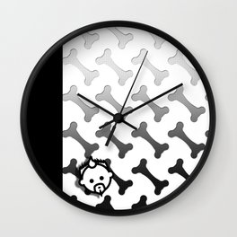 Boned HD by JC LOGAN 4 I Am Simply Blessed Wall Clock