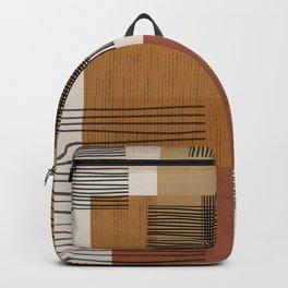 Modern Pattern Backpack