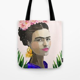 Frida in the Ferns Tote Bag