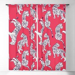 Tiger Pattern 004 Blackout Curtain