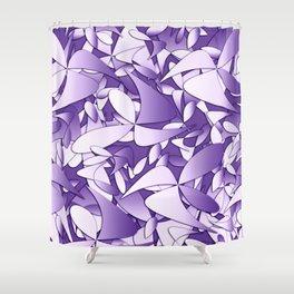 Pattern violet 211 Shower Curtain