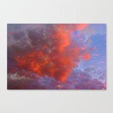 Starry Sunset Canvas Print