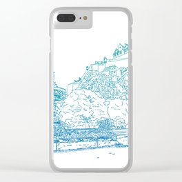 Princes Street Gardens Clear iPhone Case