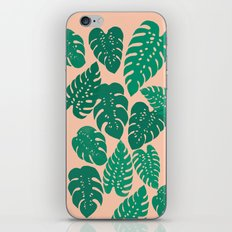 Cheese Plant - Trendy Hipster art for dorm decor, home decor, ferns, foliage, plants iPhone Skin