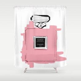 Pink perfume #6 Shower Curtain