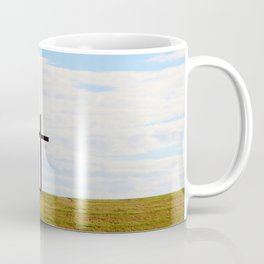 Cross On A Hill Coffee Mug