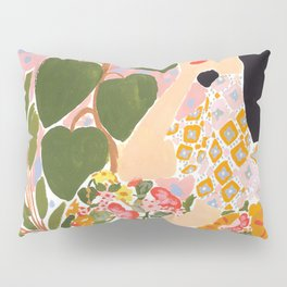 Botanical Lady Pillow Sham