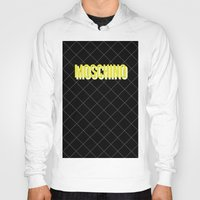 moschino Hoodies featuring MOSCHINO Quilted Bag by RickyRicardo787