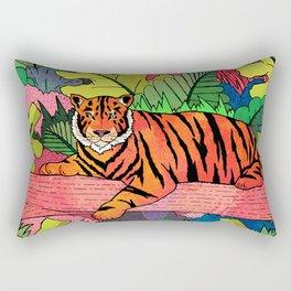 Spring Jungle Rectangular Pillow