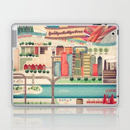 Dnipropetrovsk City, Ukraine Laptop & iPad Skin