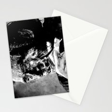 Charles Bukowski - black - quote Stationery Cards