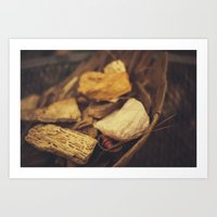 minerals Art Prints featuring Minerals by Sarah Lyles