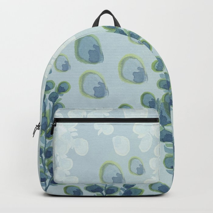 Painted floral Pattern 01 Backpack