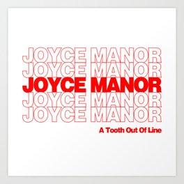 Red Thank You Joyce Manor Art Print