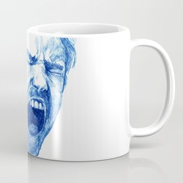 Man yawning or screaming? Coffee Mug