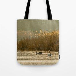 Lake of swans Tote Bag