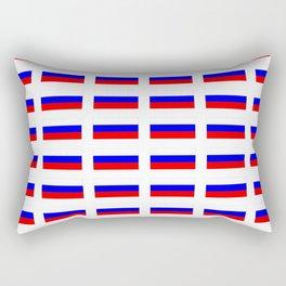 Flag of russia 2 -rus,ussr,Russian,Росси́я,Moscow,Saint Petersburg,Dostoyevsky,chess Rectangular Pillow