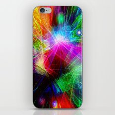 The one who wants to see the rainbow has to learn to like the rain. iPhone & iPod Skin