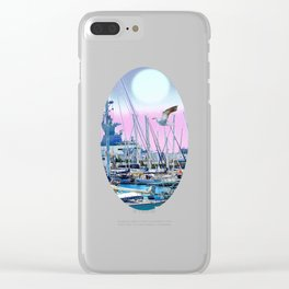 Stretching High Clear iPhone Case