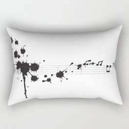 Splatter in D Minor Rectangular Pillow