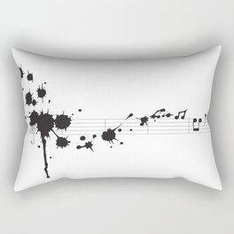 Splatter in D Minor Rectangular Pillow