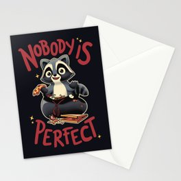 Nobody is Perfect Stationery Cards