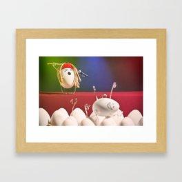 Egg Rock Concert Framed Art Print