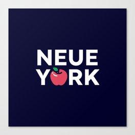 The Big Apple - New York Poster Canvas Print