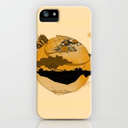 Eskisehir and Invisible World iPhone Case
