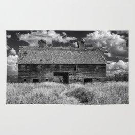 Historic Blasdel Barn in Kalispell Rug