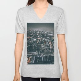 As Far As The Eye Can See Unisex V-Neck