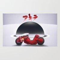 akira Area & Throw Rugs featuring AKIRA by vsMJ