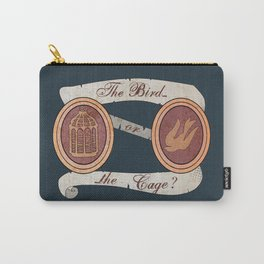 The Cage or the Bird? Carry-All Pouch