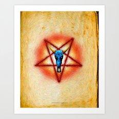 NATIVE PENTAGRAM - 018 Art Print