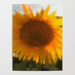 love yellow Poster